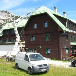 Dachsanierung 2009