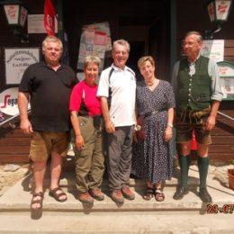 Heinz und Dagmar Fischer zu Besuch bei uns!